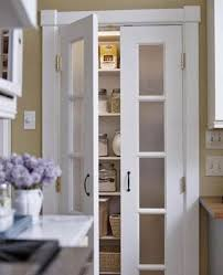 replace your cur plain pantry door w a frosted glass