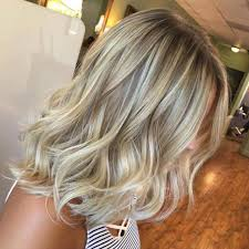 Hairstyles Medium Blonde Highlights Golden On Brown Hair Length