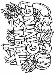 Small Picture Thanksgiving Coloring Page chuckbuttcom