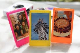 polaroid 10 colorful 2x3 mini photo picture frames for 2x3 photo paper snap