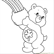 Small Picture Care Bears Coloring Page Free Care Bears Coloring Pages