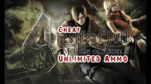 cheat resident evil 4 unlimited ammo