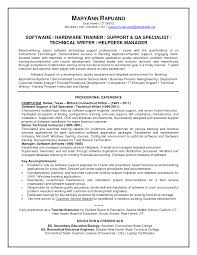Ct Tech Resume Examples A Good Resume Example