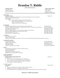 Resume Examples For Students Adorable Example Resume For College Student Tier Brianhenry Co Resume