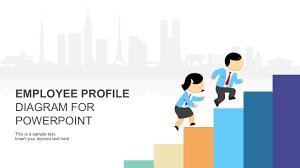 Employee Profile Sample Employee Profile Diagram Powerpoint Template