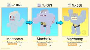 Machamp Evolution Chart