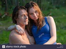 THE BEST OF ME 2014 Best of Me Productions,LLC film with Liana Liberato and  Luke Bracey Stock Photo - Alamy