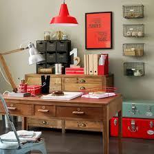 storage ideas for office. Industrial Style Home Office With Reclaimed Storage Ideas For