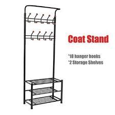 Coat Stand Rack chinkyboo metal Multipurpose100 hanger hooks clothescoat stand hats 84