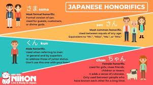 Sama San Kun Chan The Many Japanese Honorifics