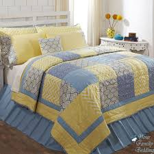 interior blue and yellow bedding decorating ideas bedspreads queen comforter sets set blue yellow