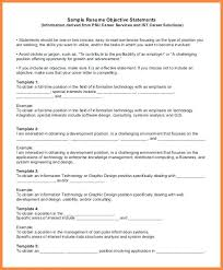 Resume Objective Section Sample Generic Resume Objective Generic Resume Template Generic Resume ...