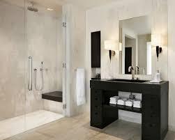 Beautiful Modern Bathroom With Shower Bathroom Modern Showers Shower  Curtains With Seats Bath Design