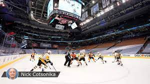 nhl exhibition games begin with new