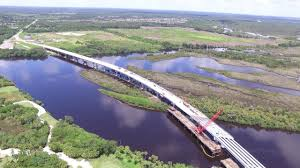 Image result for pictures of the completed Fort Hamer Bridge Parrish Florida
