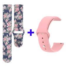 <b>Bracelet</b> for P80 <b>smartwatch Strap</b> P70 P68 Flower Silicone Watch ...