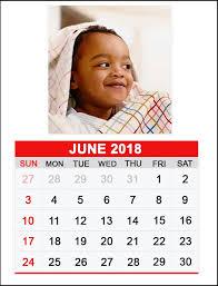 June 2018 Personalized Calendar Latest Calendar