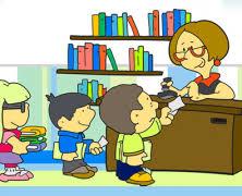 Resultado de imagen de imagen biblioteca escolar