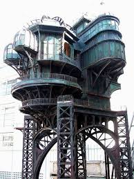 NOT Jules Verne's house, but it would have been quite fitting for the  father of Steampunk. It's a steampunk treehouse built for the movie City of  Lost ...