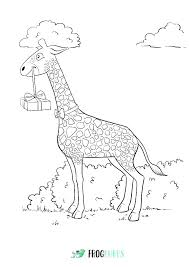 Coloring Pages Baby Giraffe Coloring Pages Printable Gira Baby