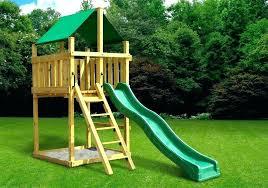 wooden swing set plans diy