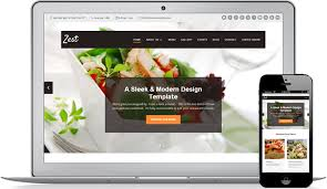 Restaurant Website Templates New Restaurant Website Design Solution