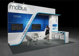 Convention Booth Design 6m X 3m Open 3 Sides Bespoke Quality Exhibition Stand