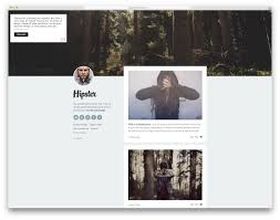 Tumblr Photography Themes 26 Best Highly Flexible And Free Tumblr Themes 2019 Colorlib