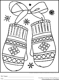 Small Picture Holiday Scene Coloring Pages Winter Free Printable With esonme