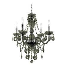 plug in crystal chandelier best black with swag kit