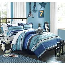 striped bedding sets boys blue modern stripes stripe comforter sheets bed in a bag bedding set striped bedding sets