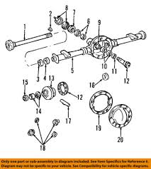 Details About Gm Oem Rear Differential Pinion Shim 1394892