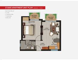 Apartments  Sqft Studio Apartment Unit Floor Plan Studio - Rental apartment one bedroom apartment open floor plans