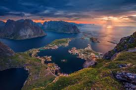 we are sailing towards this jewel of a nation norway