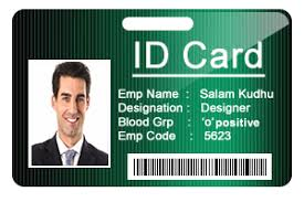 corporate Cards Design Students Maker Edition Employee Id
