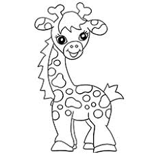 Small Picture Top 20 Free Printable Giraffe Coloring Pages Online