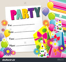 birthday party invitations unlike the usual themed children s birthday party invitations