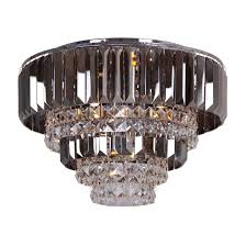 sentinel debenhams home collection mila flush ceiling light chandelier glass crystal