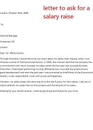 pay raise letter samples letter asking for a pay raise ender realtypark co
