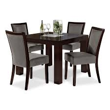 gray dining room chairs. Grey Dining Room Chairs Decofurnish Table And Gray N