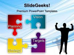 Puzzle Strategy Planning Business Powerpoint Template Powerpoint