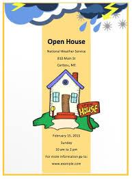 School Open House Flyer Template Printable For Teachers Jourjour Co