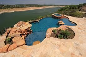 natural looking in ground pools. Plain Looking Large Freeform Gunite Swimming Pool To Natural Looking In Ground Pools
