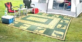 rv patio mats 9x18 outdoor rug new rugs awning best woods mat 9 x furniture