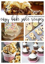 baking sale easy bake sale recipes