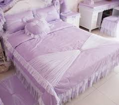 ems korean purple pink queen size bedding bed comforter set city comforter trill duvets and bedding set luxury bed sheets with 131 15 piece on