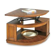 pie shaped end table full size of table pie shaped lift top coffee table functional coffee
