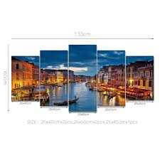 Seaside Decorative Accessories funlife Seaside Town DIY Wall Decals Frameless Wall Paper 100pcs 44