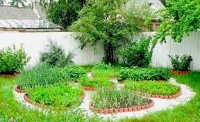 Small Picture circular vegetable garden design raised garden beds patio garden