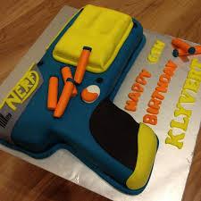 Kelly s Little Corner Baking Diary s Nerf Gun Cake Design